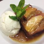 Sticky Apple & date pudding