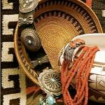 Navajo Weavings, Native Baskets, Pueblo Pottery and Native Jewelry