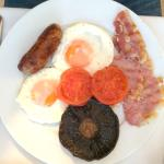 Locally sourced English Breakfast