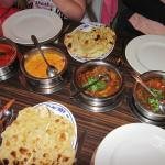 A major curry feast at Zeera's  (25/May/15).