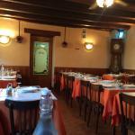 Côté salle restaurant.