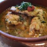 Red Snapper with tomato broth