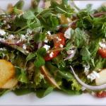 Wonderful food served at Cafe Flora!