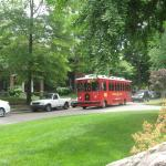 Downtown trolley to park and old town