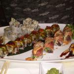 Don't miss half price sushi night. Yumm