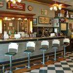We continue to use the original Soda Fountain and Backbar- hand-mixing drinks using spigots & pu