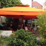 Das Café und Restaurant in voller Pracht!
