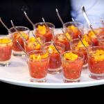 Canapes for functions to suit.