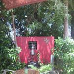 Santee Cafe courtyard