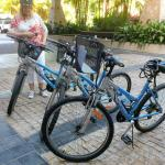 Bike fun at Palm Cove