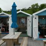 Cosy beach huts!
