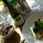 lunch at Bistro Vinden