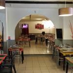 la première salle du restaurant