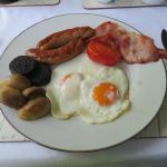 Breakfast: the 'works'