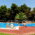 Piscina Camping Santa Elena, LLoret de Mar, Costa Brava Maresme