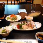 海扇閣 夕食(一部)