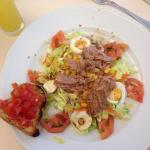 Nicoise salad for lunch