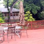 outdoor seatin