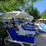 New poolside terrace