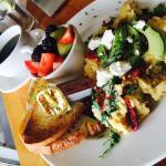 House scrambled- the best eggs here