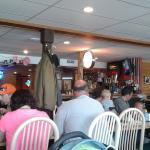 Nice bar inside the restaurant