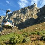 Cable car to top of Table Mountain