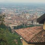 These are some of the views in Bergamo old town only a short walk from hotel petronilla