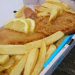 lovely fish and chips :)