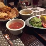 Fresh Tortilla Chips w/salsas & guacamole