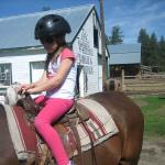 First horse ride ever & had fun!