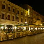 Hotel Pietrak at Night