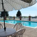 Our heated outdoor pool is open seasonally.