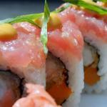Sushi rolls at Zabo