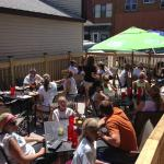 Popular Outdoor Dining at OTown!