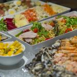 Family buffet at Holiday Inn Auckland Airport