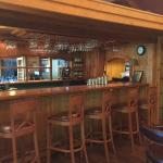 Bar at Seasons Restaurant on property