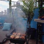 Fort Budget Hotel - You can bring your own meat and beers to do a barbecue