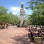 Gaffer District - CenterWay Square clocktower