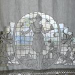 Beautiful curtain in one of the rooms