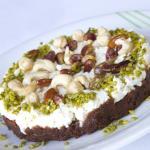 Arabic sweets: esh el saraya
