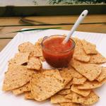 Tacos with Salsa Dip