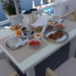 One of the breakfasts we had