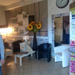 Espace détente, Salon et accueil de l'Hôtel
