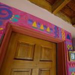 painted doorway