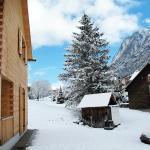 Chalet mit Winterlandschaft
