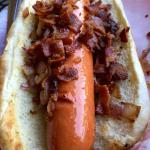 Bacon & Grilled Onion Dog