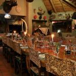 Mafigeni Lodge Dining room