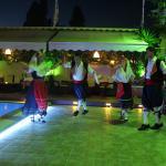 Greek night - traditional dancing followed by some plate smashing!