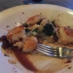 Scallops and shrimp!
