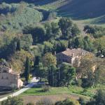 Vista sui casali dell'Agriturismo La Campana